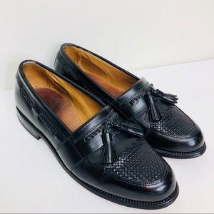 Allen Edmonds Cody kiltie black leather size 9 D